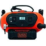 Black+Decker BDCINF18N-QS 11.0 Bar Kompressor/Luftpumpe (mögliche Stromquelle: 12V-/230V-Anschluss...