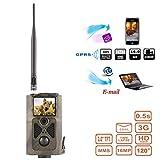 JIANPING Jagdspur Kamera 3G Netzwerk MMS SMTP/SMS Wild Tier GPRS Scouting Infrarot Spiel 16MP 1080P...