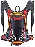 Rucksäcke für Radsport mit Helmhalter 15L leichter Fahrradrucksack Trinkrucksack Ski-Daypack Mini...