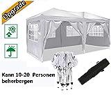 Serface Pavillon Faltpavillon 3x6 Wasserdicht Faltbare Gartenpavillon Festival Sonnenschutz...