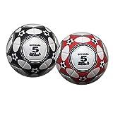 Toygogo 2pcs Offizieller Fuball Kinder Erwachsene Trainingsball Freizeitball, Gre 5