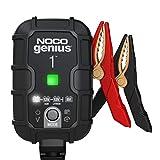 NOCO GENIUS1EU, 1A Vollautomatisches Intelligent Ladegerät, 6V und 12V Batterieladegerät,...