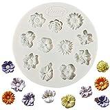 Flower silikon fondantform zuckerpaste kuchen cupcake design mat silikonform fr kuchen dekorieren...