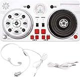 DJ-Controller, Party-Mixer, Spielzeug für Kinder, DJ-Set mit Mikrofon und Disco-Kugel, Spaß für...