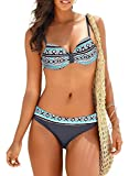 SIDEFEEL Damen Bademode Push Up Bikini Sets Sexy Zweiteilige Badeanzug Bandeau Strandkleidung...