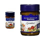 Schuhbecks Zauberbrühe Geflügel, 3er Pack (3 x 120 g) & Schuhbecks Vegetarische Gemüsebrühe, 3er...