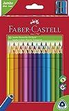 Faber-Castell 116530 - Buntstifte triangular Jumbo, 30er Kartonetui, 1 Stück
