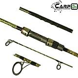 CarpOn Master Rute 10 ft 12 ft bis 3,5lbs Angeln Fischen Karpfen Zubehoer