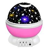 Tesoky Nachtlicht Kind, Mädchen Geschenke 6 8 5 9 4 3 2 Jahre Sternenhimmel Projektor Nachtlicht...