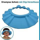 Shampoo Schutz fr Kinder, Haare waschen ohne Trnen, fr 0-9 Jahre, mit Clip-Verschluss, 100%...
