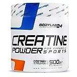 Bodylab24 Creatin Pulver, 100% Monohydrat Pulver, höchste Reinheit für Muskelwachstum, Premium...