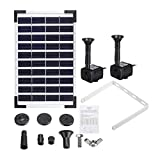 Ji Yun 10 V 5 Watt Outdoor Tauch Solar Power Powered Springbrunnen Pumpe for Pool Teich Garten...