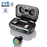 Bluetooth Kopfhrer Kabellos, In Ear Ohrhrer mit 3000mAh Ladebox CVC 8.0 Noise Canceling Touch...