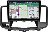 LINGJIE GPS-Navigation 10-Zoll-Touch-Screen-MP5 für Nissan Altima TEANA 2008-2012 Android 10.0...