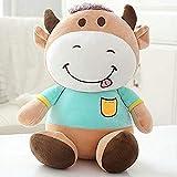 SSTOYS Großes Spielzeug Kawaii Liebhaber Tier Vieh Plüsch Puppen Kinder Stofftiere Kinder Weichen...