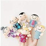 6pcs Fingerpuppen Set Soft Toy Kinder Lernen Spielgeschichte