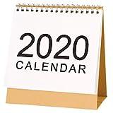 RecoverLOVE Stehtischkalender 2019-2020 Monatlicher Schreibtisch, Schulschreibtisch, Zeltkalender,...