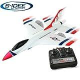 s-idee® 21005 Kampfjet FX823 Flieger Flugzeug Trainer rc ferngesteuert mit 2.4 Ghz Technik mit Lipo...