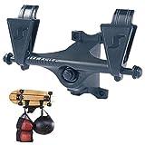 Buding Skateboard Rack Lagerregal Wandhalterung, Wand-Halter Wand-Halterung Für Wakeboard Kiteboard...