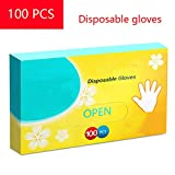 LCHY TB Einweghandschuhe, PE-Handschuhe, 100 Stück, für Küche, Restaurant, Kochen, Industrie,...