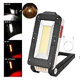 Baohooya 1000lm/380lm Led Arbeitsleuchte,USB Taschenlampe Werkstattlampe Cob Led Inspektionsleuchten...