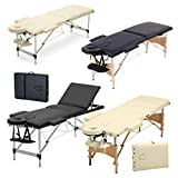 2 Zonen Mobile Massageliege klappbar Massage Kosmetik Bank Ttisch klappbar Höhenverstellbare...