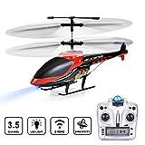VATOS RC Helikopter RC Hubschrauber Fernbedienung Hubschrauber Kinder Indoor 3.5 Kanäle Hobby Mini...