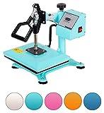 RICOO Power Zwerg-TB Transferpresse Textilpresse Textildruckpresse Schwenkbar Thermopresse...