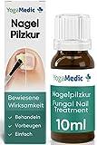 Nagelpilz Behandlung 10ml [NEU2021] YogaMedic® - Patentierter Wirkstoff, schnell und intensiv -...