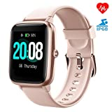 LIFEBEE Smartwatch, Fitness Armband Fitness Tracker Voller Touch Screen Smart Watch IP68 Wasserdicht...