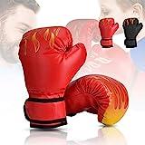 Wuudi Kinder Boxhandschuhe, 6 OZ Box-Handschuhe Trainingshandschuhe für Kinder von 3-10 Jahre...