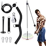 FBSPORT Kabelzug Fitness, Seilzug Fitness System, Trizeps Fitnessgerät Trainingsgerät Bodybuilding...