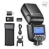 Godox V860IIIF Blitzgerät für Fujifilm-Kameras, 76Ws 2.4G Kamera-Blitz, 7.2V/2600mAh Li-Ion Akku,...