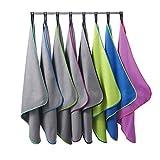 Bahidora Microfaser Handtuch. MikrofaserHandtücher, Reisehandtuch, schnelltrocknendes Handtuch....