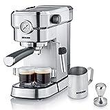 SEVERIN Espresa Plus KA 5995 Espressomaschine (ca. 1350 W, massiver und professioneller Siebträger...
