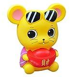 Maus Sparschwein Spardose, Spardose bruchsicher Sparschwein Spielzeug Spardosen für Kinder