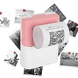 Robuster und langlebiger tragbarer Fotodrucker zum Drucken von Text zum Erlernen der Eingabe...