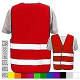 Hochwertige Warnweste mit Leuchtstreifen * Bedruckt mit Name Text Bild Logo Firma * personalisiertes...