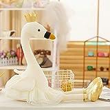 Gdxy Plüschtier 35cm Cute Flamingo Plush Toy Crown, Animal Plush Toys, Children's Toys, Home...