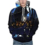 Unisex Halloween Sweatshirts Casual Kapuzenpullover Pullover Hoodies Langarm Gedruckt Pullover 3D...