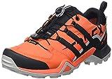 adidas Herren Terrex Swift R2 Gore-TEX Walking Shoe, Glory Amber/Core Black/Solar Red, 43 1/3 EU