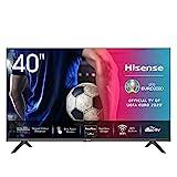 Hisense 40AE5500F 100cm (40 Zoll) Fernseher (Full HD, Triple Tuner DVB-C/S/S2/T/T2, Smart-TV,...