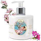 Handcreme Kirschblüte - Großformat Pumpe 300 ml Un Air d'Antan/Handlotion mit Arganöl...