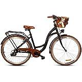 Goetze Mood Damenfahrrad Retro Vintage Holland Citybike, 28 Zoll Alu Räder, 7 Gang Shimano Tourney...