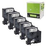 Dymo D1 Etikettenband 45013 S0720530 D1 Ersatzpatronen kompatibel DYMO LabelManager 160 280 420P PnP...