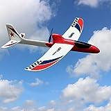 Yzki RC Flugzeug Spielzeug, elektrisches EPP Schaum Flugzeug ferngesteuert mit 2,4 GHz mit...