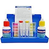 Hecht Brandneuer Profi Wassertester Chlor - Für eine perfekte Messung Ihrer Wasserqualität –...