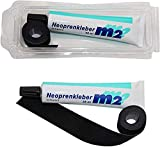 M2 Neopren Nahtband 25mm x 950mm Zum Aufbgeln Neoprenkleber 35ml Reparatur fr Nhte Naht Neoprenanzug...