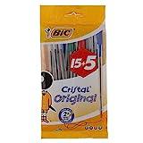 BIC Cristal Kugelschreiber, Medium, farblich sortiert, 20 Stck