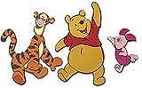 DECOFUN 23620 - Winnie the Pooh Wandfigur-Set 3-teilig